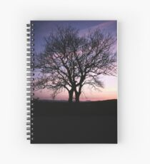 Two Trees embracing Spiral Notebook