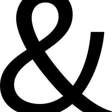 Ampersand T-Shirt in Calluna Sans by doubledagger
