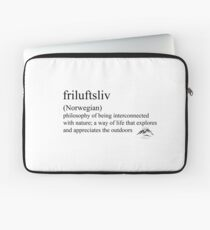 friluftsliv (Norwegian) statement tees & accessories Laptop Sleeve