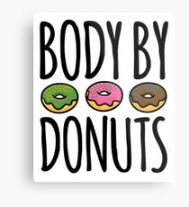 Body By Donuts Metal Print