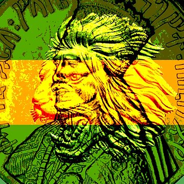 Jamaica Conquering Lion of Judah by rastaseed