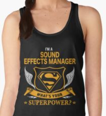 SOUND EFFECTS MANAGER BEST COLLECTION 2017 Women's Tank Top