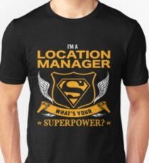 LOCATION MANAGER BEST COLLECTION 2017 T-Shirt