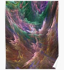 Abstract Storm Poster