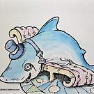 A Gentleman Shark by Byron  McBride