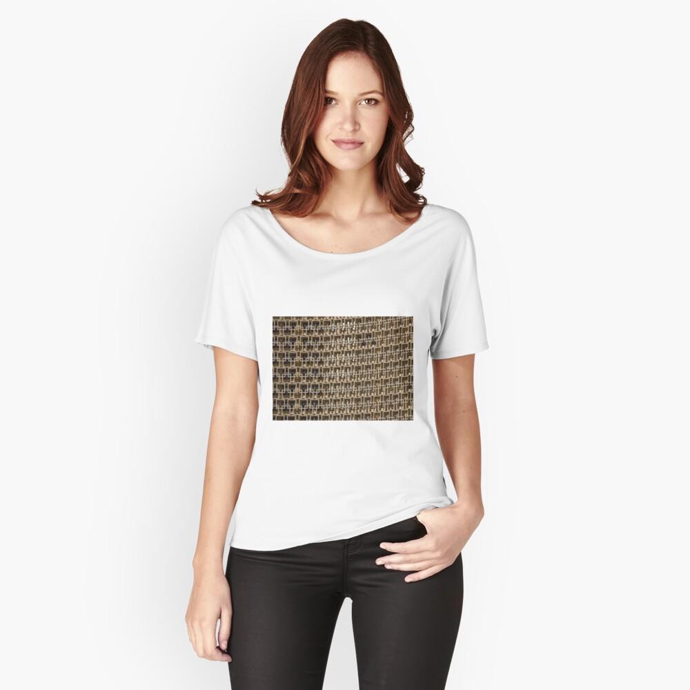 Uzbekistan Hotel, detail Women's Relaxed Fit T-Shirt Front