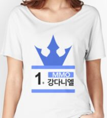 PRODUCE 101 #1 MMO KANG DANIEL Women's Relaxed Fit T-Shirt