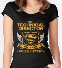 TECHNICAL DIRECTOR BEST COLLECTION 2017 Women's Fitted Scoop T-Shirt