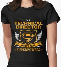 TECHNICAL DIRECTOR BEST COLLECTION 2017 Women's Fitted T-Shirt