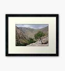 Sentab Valley, Uzbekistan Framed Print