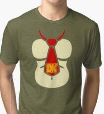 Donkey Kong Chest Tri-blend T-Shirt