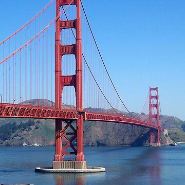 Golden Gate Bridge by queennekoyasha