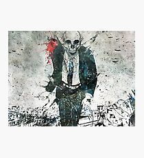 Remorse Is for the Dead Photographic Print
