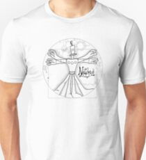 the Vitruvian Klaymen Unisex T-Shirt