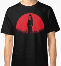 Eraser Head Hero Aizawa Sensei Red Moon Classic T-Shirt