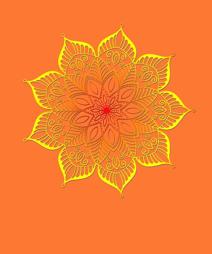 Mandala - Buddhismus - Yoga - Meditation - Chakra - Spiritualität by STYLESYNDIKAT