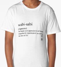 wabi-sabi (Japanese) statement tees & accessories Long T-Shirt