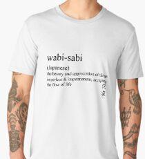 wabi-sabi (Japanese) statement tees & accessories Men's Premium T-Shirt