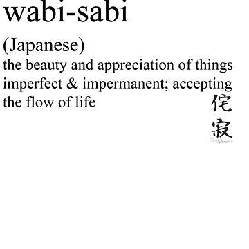 wabi-sabi (Japanese) statement tees & accessories by Rendezvousmag