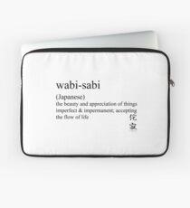 wabi-sabi (Japanese) statement tees & accessories Laptop Sleeve