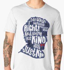 Twelfth Doctor- Kindness Men's Premium T-Shirt