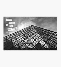 Der Louvre Fotodruck