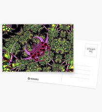 Fractal Insect Postcards