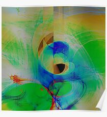 Abstract composition 132 Poster