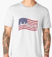 USA, national flag, patriot symbol Men's Premium T-Shirt