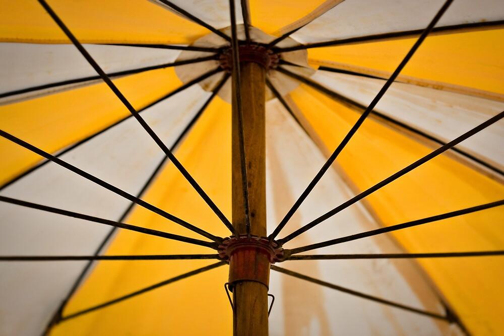 beach umbrella by Martin Pot