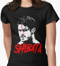 Katsuyori Shibata - Horror T-Shirt Womens Fitted T-Shirt