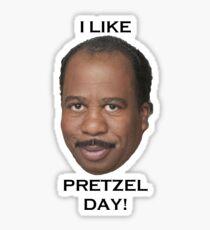 Stanley Pretzel Day Sticker