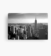 Lienzo metálico New York, New York