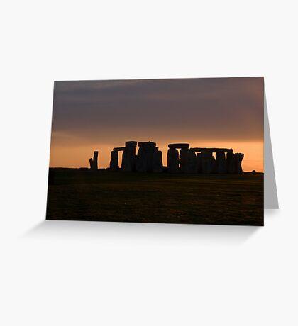 Stone Henge Greeting Card