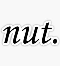 Nut Sticker