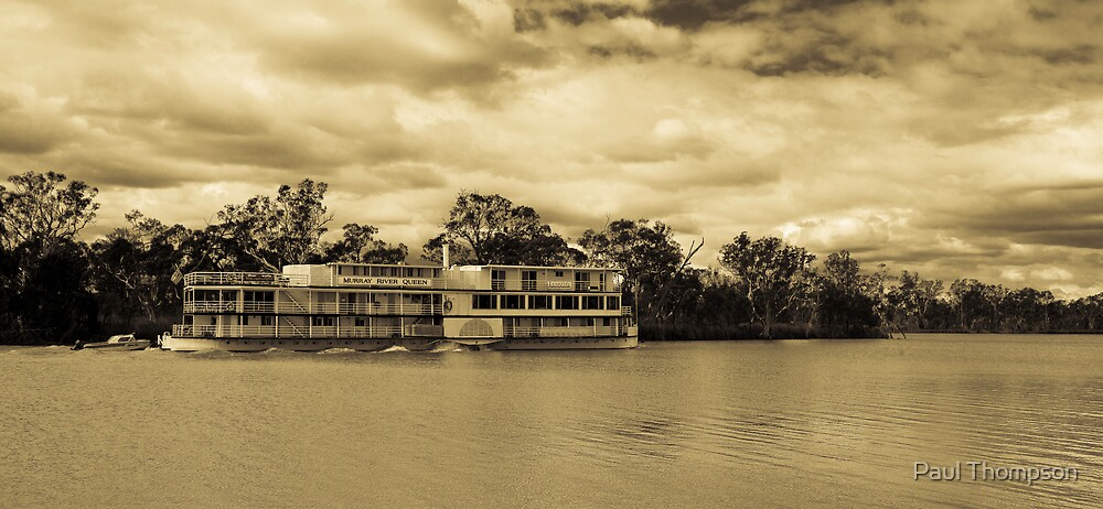 Murray River Queen by Paul Thompson