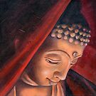 Veiled Buddha 1 by Helen Aldous
