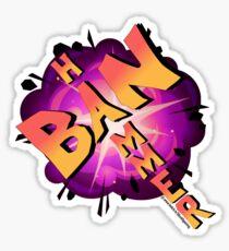 30's BanHammer Sticker