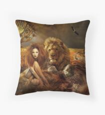 Be proud Throw Pillow