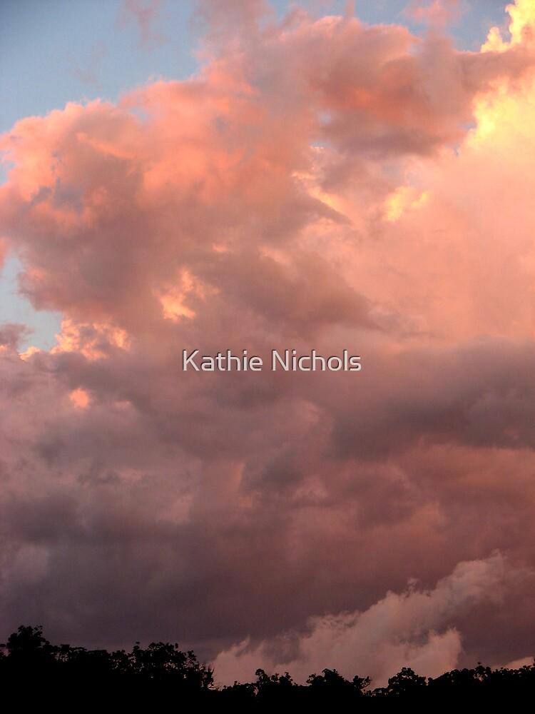 Stormy Sunset by Kathie Nichols