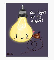 Light Up My Night Photographic Print
