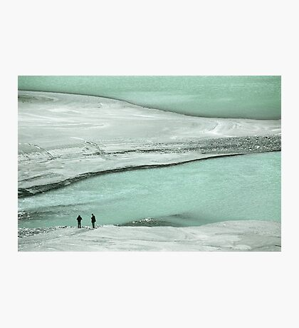 At the lake Photographic Print