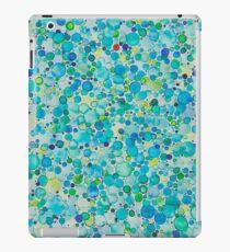 Water Color Bubbles iPad Case/Skin