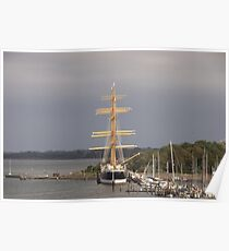 Tall Ship Passat Poster