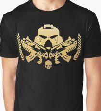 Golden Space Marine Legion - Warhammer 40k Graphic T-Shirt