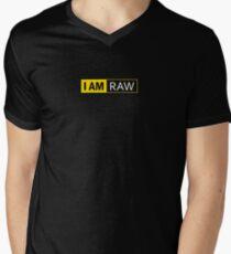 I AM RAW Men's V-Neck T-Shirt