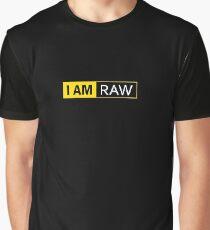 I AM RAW Graphic T-Shirt
