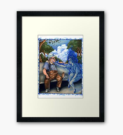The Ghost of Margaret O'Toole Framed Print
