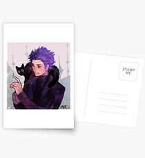 Hitoshi Shinsou + Cat Postcards