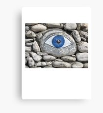 Greek Eye Canvas Print